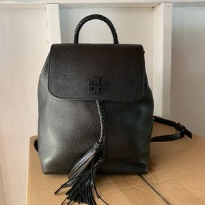 Tory Burch 55460 Black Leather Taylor Backpack